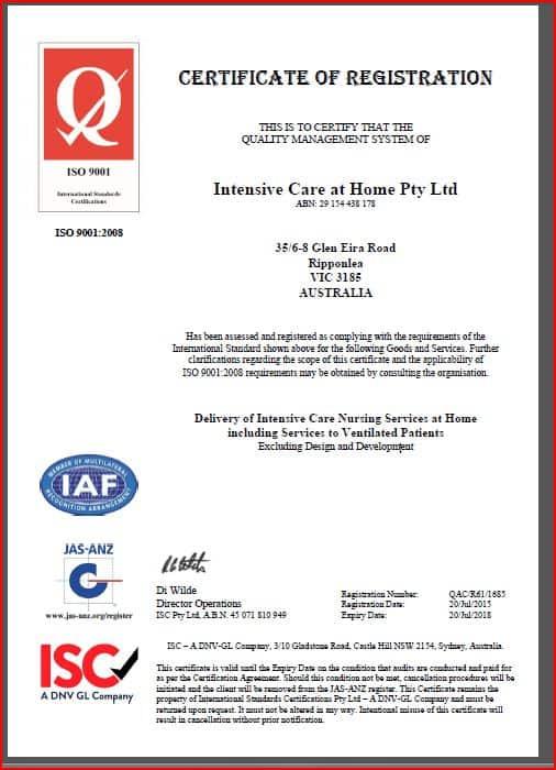 Screenshot certificate